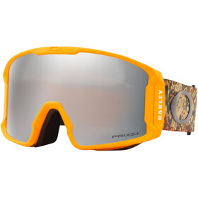 Oakley Line Miner XL Signature Lunettes de ski Homme, Kokubo/kamikazu derma orange/prizm snow black